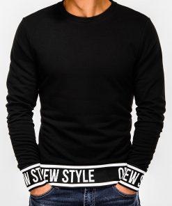 Juodas vyriškas džemperis internetu pigiau B930 13260-2