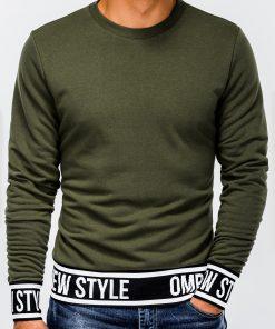 Chaki vyriškas džemperis internetu pigiau B930 13262-2