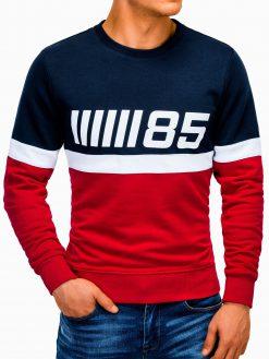 Raudonas vyriškas džemperis internetu pigiau B934 13275-2