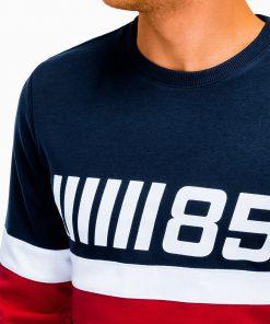 Raudonas džemperis vyrams internetu pigiau B934 13275-4