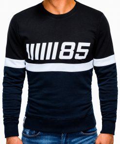 Tamsiai mėlynas vyriškas džemperis internetu pigiau B934 13276-3