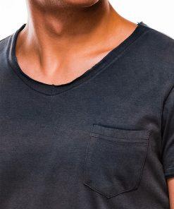 Tamsiai melyni vienspalviai vyriski marskineliai internetu pigiauS1049 13319Tamsiai mėlyni vienspalviai vyriški marškinėliai internetu pigiauS1049 13319-1