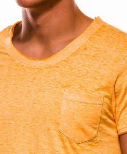 Geltoni vyriški marškinėliai internetu pigiau S1051 13334-3