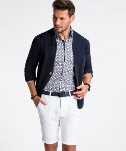 Stilingas elegantiskas vyriskas megztinis vyrams internetu pigiau E168 13386-3