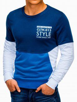 Baltas vyriškas džemperis su užrašu B936 13608-6