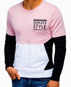 Juodas vyriškas džemperis su užrašu B936 13609-4