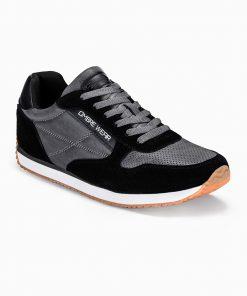 Juodi vyriški laisvalaikio batai vyrams internetu pigiau T310 13648-6