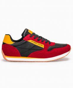 Raudoni vyriski laisvalaikio batai vyrams internetu pigiau T310 13649-1