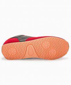 Stilingi raudoni sportiniai batai internetu vyrams pigiau T310 13649-2