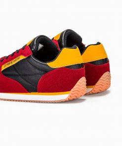 Raudoni vyriski laisvalaikio pigus batai internetu vyrams pigiau T310 13649-3
