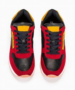 Vyriski raudoni sportiniai batai vyrams internetu pigiau T310 13649-6