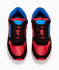 Stilingi raudoni laisvalaikio rudeniniai batai vyrams internetu pigiau T310 13650-2