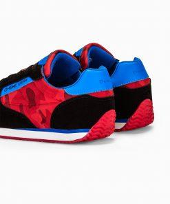 Raudoni sportiniai pigus batai vyrams internetu pigiau T310 13650-4