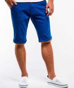 Mėlyni chino vyriški šortai internetu pigiau W150 13660-5