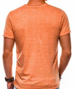Oranziniai marskineliai vyrams internetu S1144 13676-5