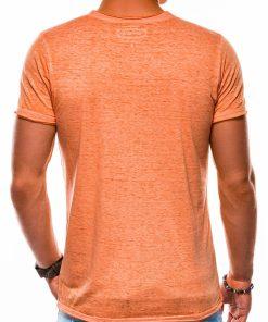 Oranziniai marskineliai su uzrasu vyrams internetu pigiau S1148 13680-5