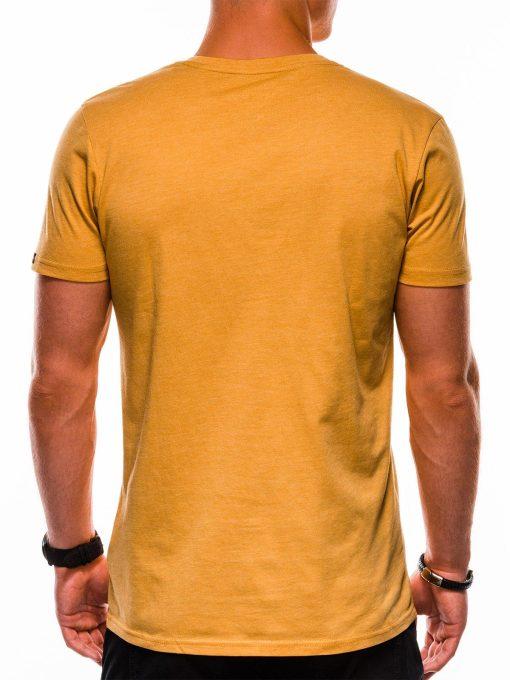Geltoni marskineliai vyrams internetu pigiau S1153 13688-3