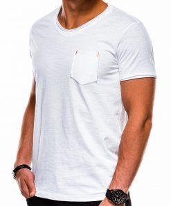Balti marskineliai vyrams internetu pigiau S1100 13717-2