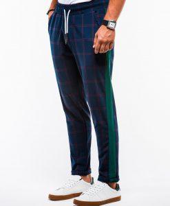 Tamsiai mėlynos chino kelnės vyrams internetu pigiau P85113768-2
