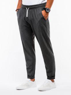 Tamsiai pilkos chino kelnės vyramsinternetu pigiau P85213770-3