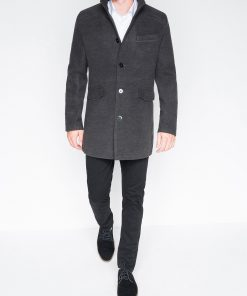 Stilingas vyriškas paltas internetu pigiau Victor C25 2395-2