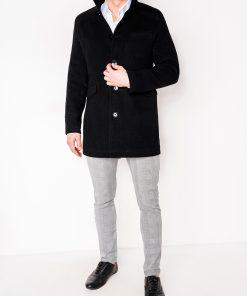 Juodas paltas vyrams internetu pigiau Victor C25 2396-3
