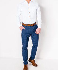 Balti marškiniai vyrams internetu pigiau Soto K302 2546-2