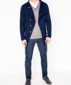 Tamsiai mėlynas vyriškas džemperis internetu pigiau B310 263-1