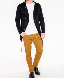 Juodas vyriškas džemperis be gobtuvo internetu pigiau B310 266-3
