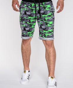 Žalios spalvos kamufliažiniai vyriški šortai vyrams internetu pigiau Bali W005 3943