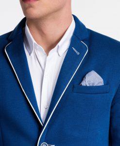 Mėlynas švarkas vyrams internetu pigiau Granato M81 4307-3