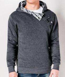 Vyriškas džemperis su gobtuvu internetu pigiau PACO 4448-1