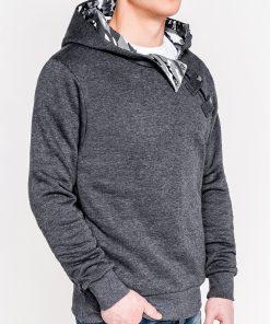 Džemperis vyrams su gobtuvu internetu pigiau PACO 4448-3