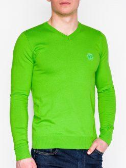Žalias vyriškas megztinis internetu pigiau E74 5799-1