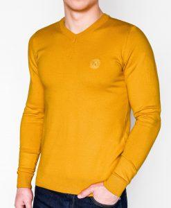 Geltonas vyriškas megztinis internetu pigiau E74 5800-1