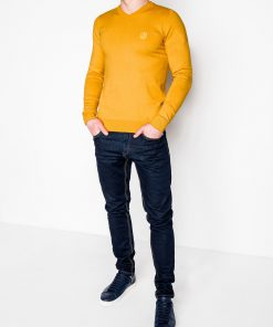 Geltonas vyriskas megztinis internetu pigiau E74 5800-2