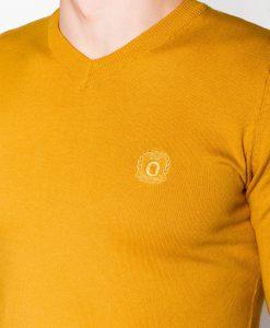 Geltonas megztinis vyrams internetu pigiau E74 5800-3