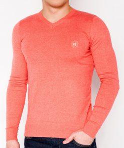 Koralinis melanžinis džemperis vyrams internetu pigiauOmbre E74 5801-1