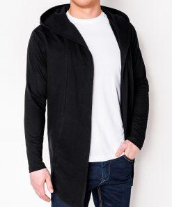 Juodas vyriškas džemperis vyrams internetu pigiau Poison B702 5810-1