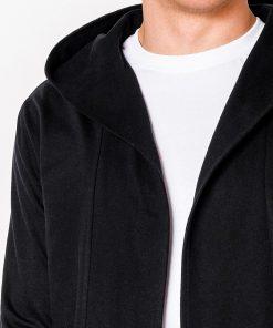 Juodas džemperis vyrams internetu pigiau Poison B702 5810-3