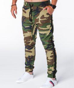 Kamufliažinės jogger laisvalaikio kelnės vyrams internetu pigiau P670 7438