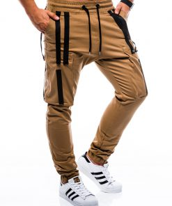 Rudos jogger vyriškos kelnės internetu pigiau P671 7441-1