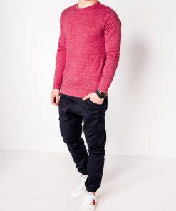 Marškinėliai vyrams ilgomis rankovėmis internetu pigiau Draf L103 8689-2
