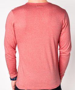 Koraliniai marškinėliai vyrams ilgomis rankovėmis internetu pigiau L103 8695-4