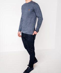 Marškinėliai vyrams ilgomis rankovėmis internetu pigiau Draf L103 8696-2