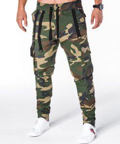 Kamufliažinės jogger vyriškos kelnės internetu pigiau Zulano P716 8708-2