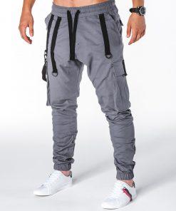 Pilkos jogger vyriškos kelnės internetu pigiau Zulano P716 8710-1