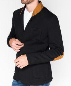Juodas vyriškas švarkas bleizeris vyrams internetu pigiau Swift M07 918-1