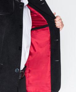 Juodas paltas vyrams internetu pigiau Augustin C92 942-5