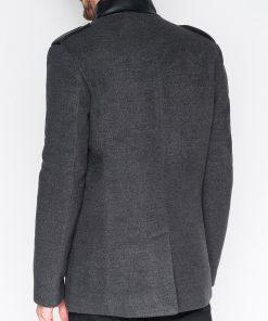 Rudeniniai paltai vyrams internetu pigiau Augustin C92 943-7